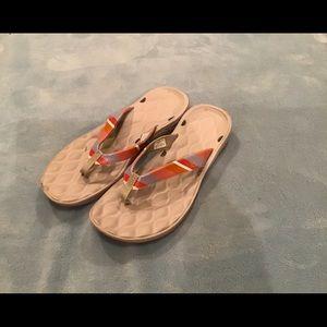 Columbia Rostra PFG sport sandals, EUC, size 9